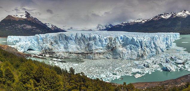 12. Buzullar Dünya'daki tatlı suların çoğunu depolar.