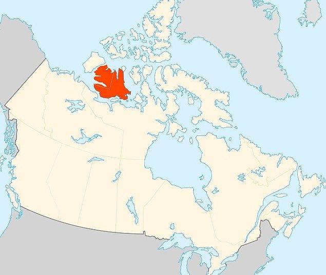 7. Kanada'da göldeki bir adadaki göldeki adadaki gölde ada vardır.