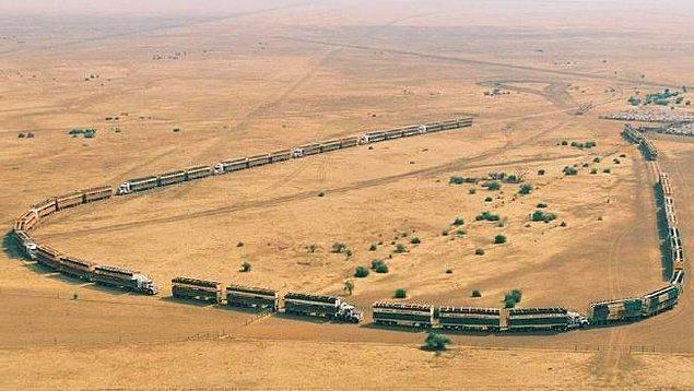 3. Avustralya'nın Anna Creek İstasyonu İsrail'in alanından daha büyüktür.