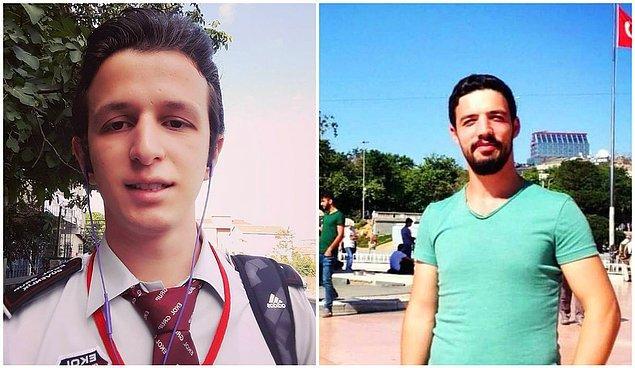 Saatler süren çalışmalar ardından güvenlik görevlisi Mehmet Altun ve Güray Halat'ın cansız bedenine ulaşıldı.