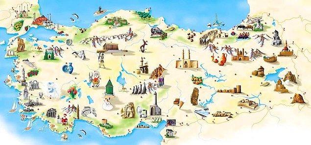 1. Coğrafyadan başlayalım... Türkiye'nin yüzölçümü en büyük komşusu hangisidir?