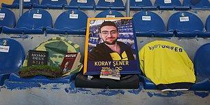 Kadıköy'de Gözyaşları Sel Oldu! Fenerbahçe Taraftarı Koray Şener Son Yolculuğuna Uğurlandı