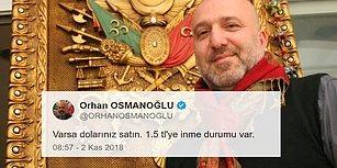 Abdülhamit'in Torunu Orhan Osmanoğlu'ndan Döviz 'Tüyosu': 'Doları Olan Satsın 1.5 TL'ye İnme İhtimali Var'