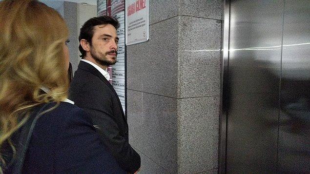 Adliyenin C blokundaki avukat girişinden içeri alınan Kural, avukatı ve yanlarındaki 2 kişiyle soruşturma savcısının bulunduğu 6. kata çıktı.