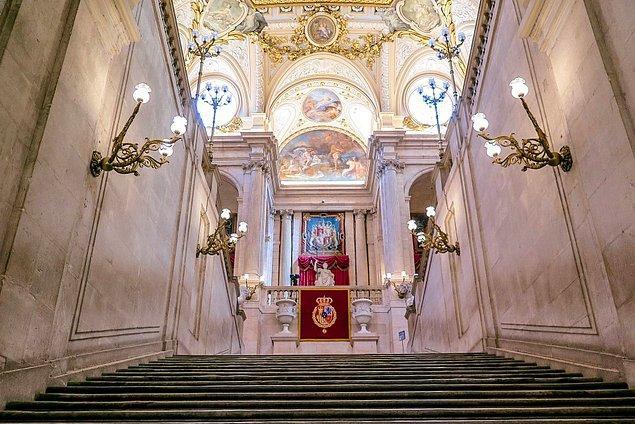 Saray şu an yalnızca devlet törenleri için kullanılıyor.