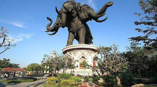 12. Erawan Müzesi, Tayland.