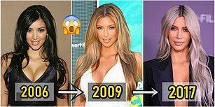 Kim Kardashian'ın Dünyanın En Büyük Stil İkonu Hâline Gelene Kadar Geçirdiği Güzellik Evrimini Gözler Önüne Seriyoruz!