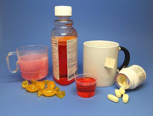 2. Grip olduğunuzda da antibiyotik içmek gerekir!