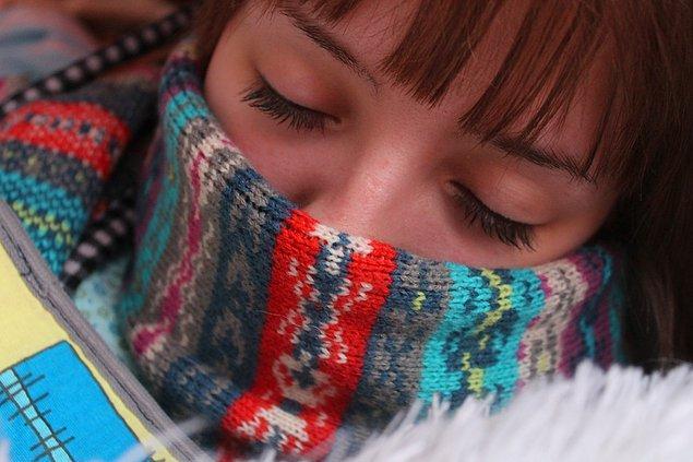 3. Soğuk algınlığını tedavi edemezsiniz!