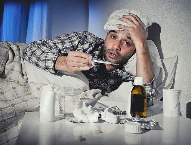4. Basit bir soğuk algınlığı için iş yerinden izin almaya gerek yoktur.