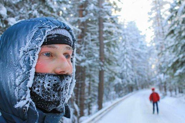 6. Soğuk hava soğuk algınlığına sebep olur!