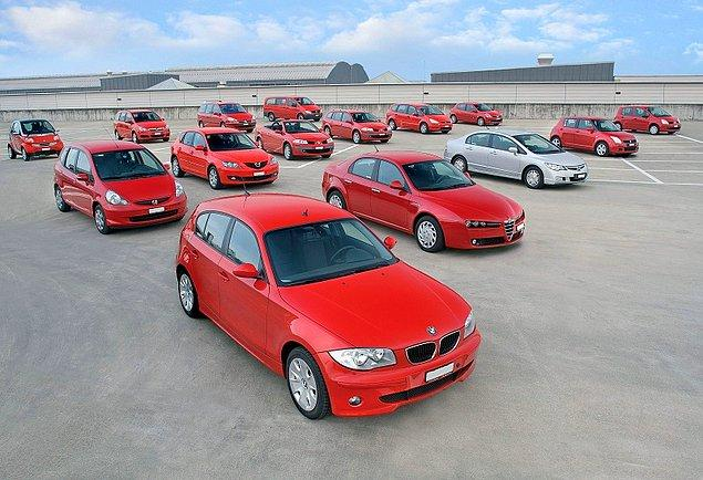Şirketin, toplam piyasa değeri 1,3 milyar TL'nin üzerinde 12 bin 455 otomobili var