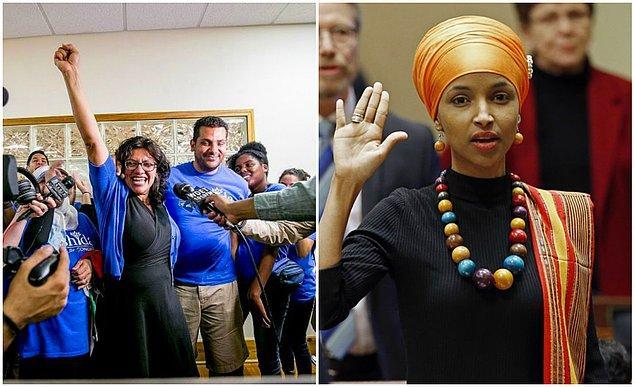 ABD Kongresi'nin ilk Müslüman kadın üyeleri: Rashida Tlaib ve Ilhan Omar
