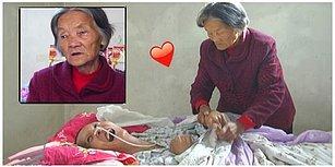 Annelik Kutsaldır: Her Türlü Fedakarlığı Yapıp 12 Yıldır Komada Olan Çocuğuna Bakan 75 Yaşındaki Anne!