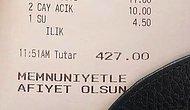İstanbul'da Bir Mekana Ödenen 427 Liralık Kahvaltı Hesabı Sosyal Medyayı İkiye Böldü!