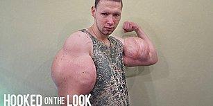 Kol Kaslarına Yağ Enjekte Ederek 'Hulk'a Benzeyen Genç: Kirill Tereshin