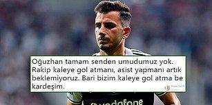 Beşiktaş Evinde Sivas'a Mağlup! Oğuzhan Taraftarlardan Tepki Alırken Genç Futbolcu Güven Alkış Topladı