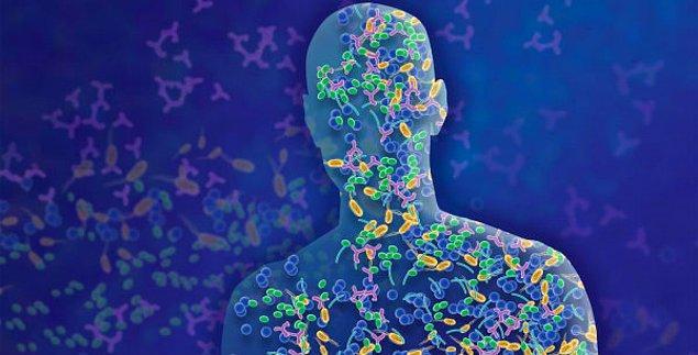 En az kendi gen yapımız kadar, bu mikrobiyom bakteriler de vücudumuzda bir karar mekanizması olarak çalışıyor.