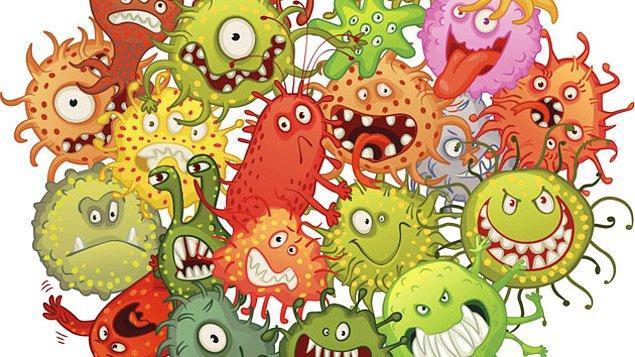 Vücudumuzdaki bu mikroskobik canlılar üçe ayrılıyor, işlevsizler, yararlılar ve zararlılar.