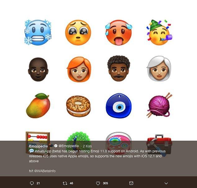 Hepmizin büyük bir merak ve heyecanla beklediği nazar boncuğu emojisi çok yakında tüm kullanıcılara açılacak.