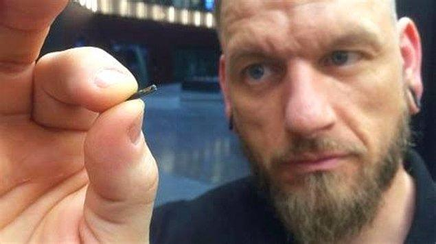 Çip implantları yapan İsveç firması Biohax, Birleşik Krallık'taki birçok firmanın, çalışanlarına çip taktırmayı düşündüğünü söyledi!