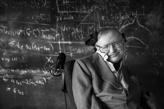 'Hawking'i örnek aldım'