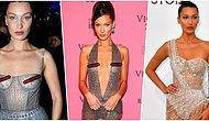 Çıplaklık Konusunda Neredeyse Kardashianlar'ı Geride Bırakan Bella Hadid'in Birbirinden İddialı Kıyafetleri