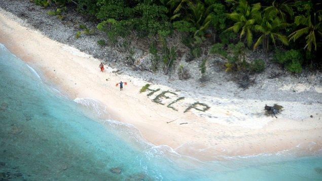 7. Issız bir adaya düştün! Yanına 1 kişi alma hakkın var. Kimi alırdın?