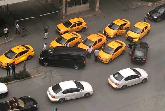 9 bin 876 taksiye ceza