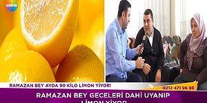Ayda 90 Kilo Limon Yiyen Adam: 'Yemezsem Elim Ayağım Titriyor'