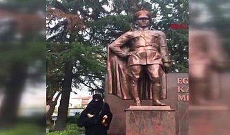 Çorlu'da Atatürk Anıtına Baltayla Saldırmıştı: Adli Kontrol Şartıyla Serbest Bırakıldı