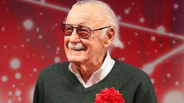 8. Stan Lee