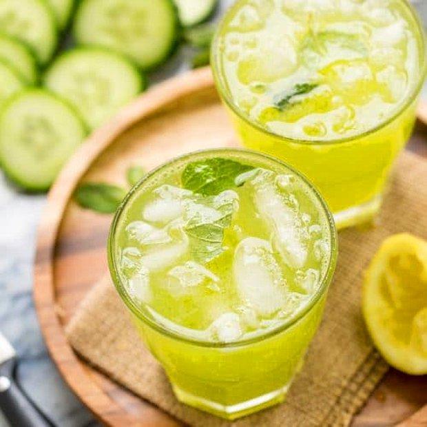 Ferah ve tatlı bir limonata?