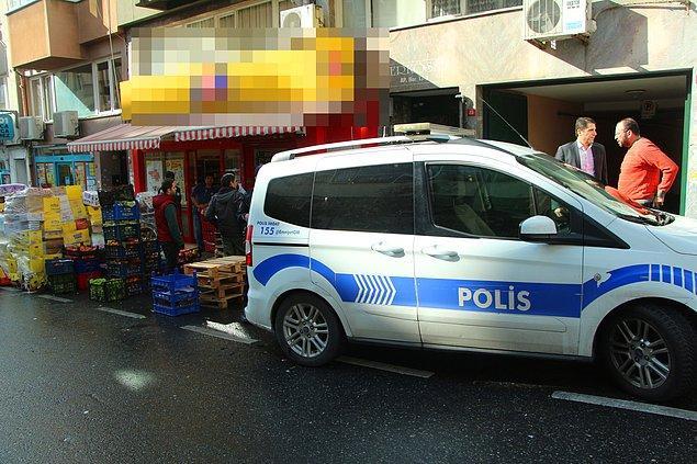 Araç sürücüsünün bilgisine başvuran polis ekipleri, soyguncunun Barbaros bulvarında indiğini öğrendi. Taksici ifadesi alınmak üzere polis merkezine götürüldü.