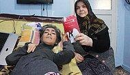 İşaret Parmağıyla Kitap Yazan %98 Engelli Kadın: Rukiye Türeyen