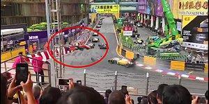 Macau'daki F3 Dünya Kupası Yarışında Yaşanan Korkunç Kaza!
