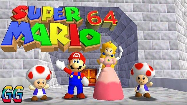 1996 - Super Mario 64