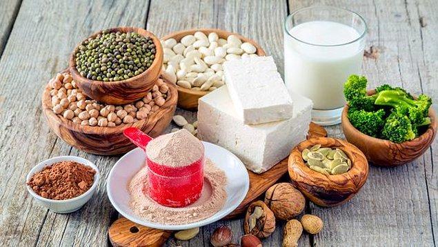 4. Yüksek proteinli yiyecekler tercih edin.