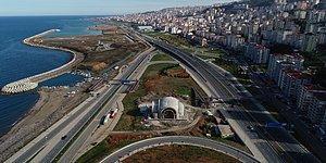 Nasıl Gidileceği Tartışma Konusu: Trabzon'da Sahil Yolunun Ortasına Cami Yapıldı