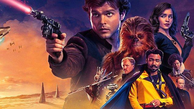 12. Han Solo: Bir Star Wars Hikayesi (2018) Solo: A Star Wars Story