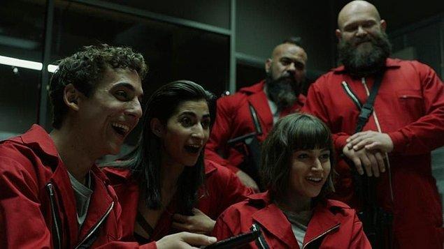 En iyi drama ödülü İspanyol yapımı La Casa de Papel'in oldu!
