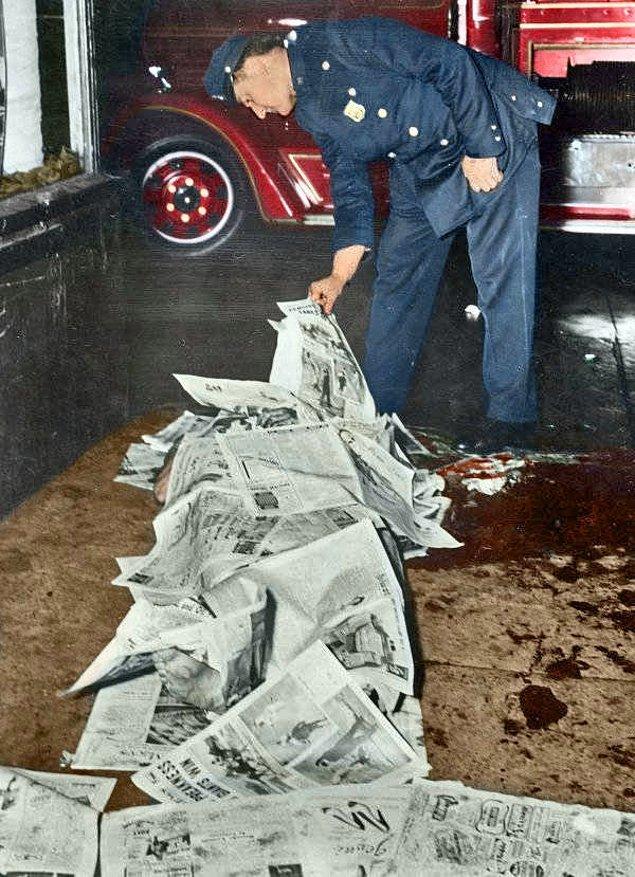 4. Kimliği bilinmeyen bir adam, 1943.