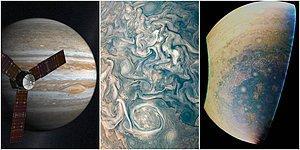 Güneş Sistemimizin En Büyük Gezegeni Olan Jüpiter'in Kaotik Güzelliğini Gözler Önüne Seren Büyüleyici Fotoğrafları