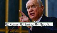Roma'nın Şampiyonlar Ligi Maçına Davet Edilen Devlet Bahçeli'yi Mizahına Alet Eden 15 Goygoycu