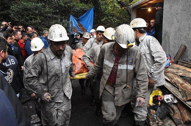 Yaklaşık 10,5 saat süren kurtarma çalışmalarının ardından acı haber geldi.