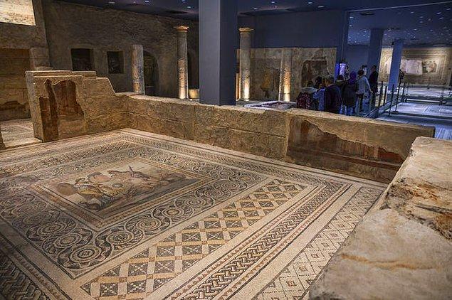 Dr. Stephanie Hooper tarafından 2012 yılında yapılan araştırmada, Bowling Green State Üniversitesince 35 bin dolar karşılığında satın alınan mozaiklerin, Zeugma Antik Kenti kökenli olduğu belirlendi.