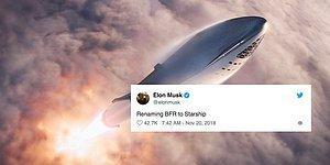 Elon Musk Mars Yolcusu 'Big Falcon Rocket'in İsmini 'Starship' Olarak Değiştirdiğini Açıkladı