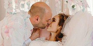 Ölmeden Önce Sevgilisiyle Evlenme Hayalini Gerçekleştiren Kanser Hastası Kadın