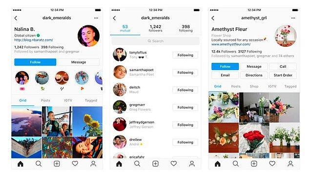 Öte yandan herkesi etkileyecek bir diğer haber de Instagram'da yaşanacak olan tasarım değişikliği haberi.