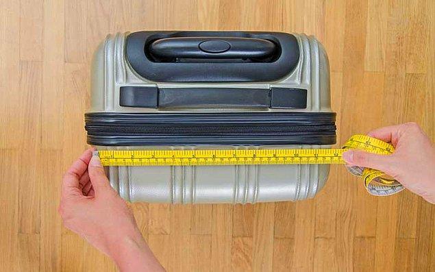 Bagaj kontrolü çok önemli, yanınıza almamanız gerekenleri bilin! Ayrıca değerli eşyalarınızı el bagajı olarak yanınıza alın, diğerlerini check-in sırasında bagaja vereceksiniz.